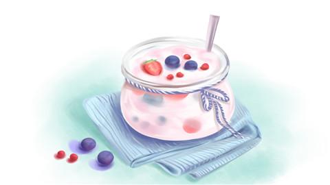 酸奶的热量