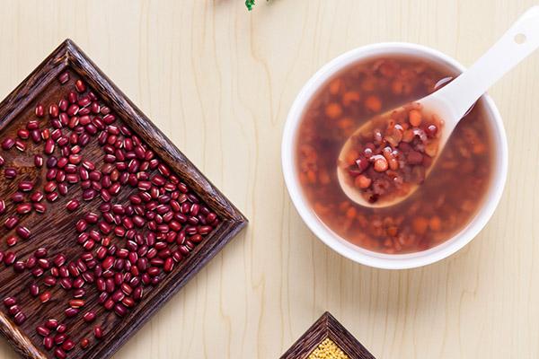 红豆薏米水的功效