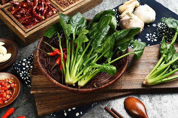 吃菠菜的好处和坏处