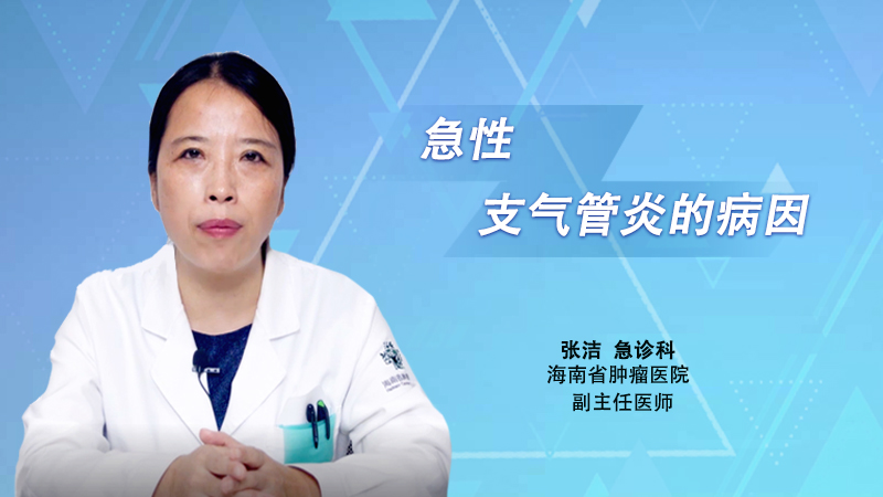 急性支气管炎的病因