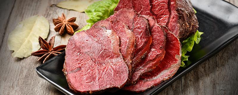 卤牛肉的营养价值及功效
