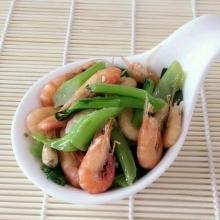菜心炒河虾