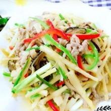 竹笋炒肉丝