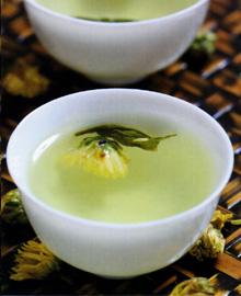 桑菊绿茶饮