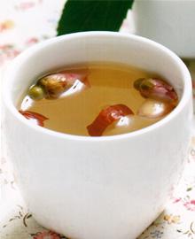红枣玫瑰花茶
