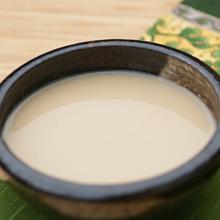 山药莲子米浆