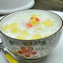 菠萝麦仁粥