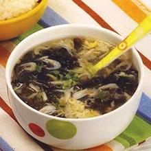 紫菜海米鸡蛋汤