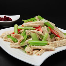 腐竹拌芹菜