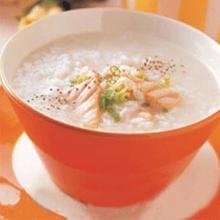 鳕鱼蘑菇粥
