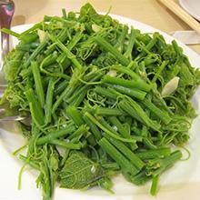 清炒龙须菜