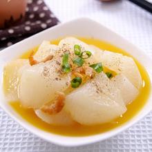鸡汁白萝卜片