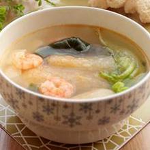 虾仁海带汤