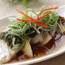 香菇蒸带鱼