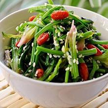芝麻花生米拌菠菜