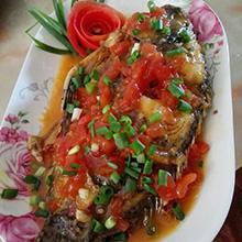 番茄酱福寿鱼