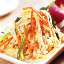 金针菇炒三丝