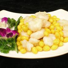 黄豆芥蓝炒虾仁
