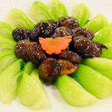 香菇上海青
