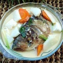 山药鱼头汤