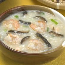 淡菜虾米西芹粥