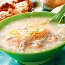 苁蓉虾米粥