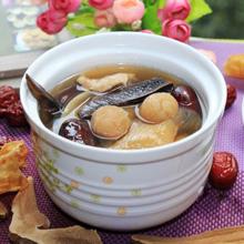 灵芝红枣瘦肉汤