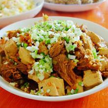 猴头菇炖豆腐