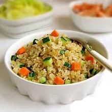 黄瓜糙米饭