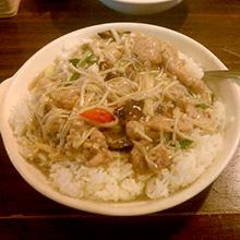金针菇牛肉汤饭