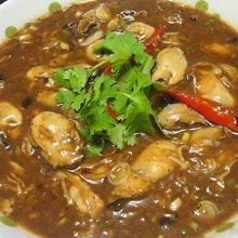 豆鼓煮牡蛎