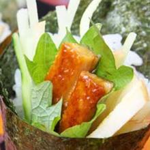 三文鱼紫菜手卷