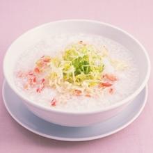 菠菜虾米粥