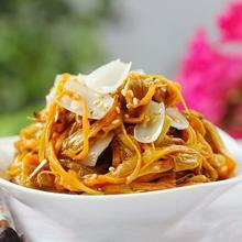 鸡丝炒百合黄花菜