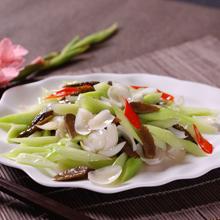 百合鲜芹肉片