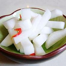 炝白萝卜条