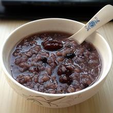 黑米黑豆粥