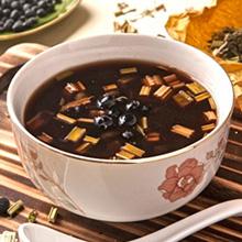 黑豆益母草瘦肉汤