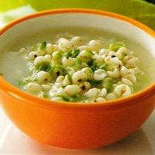 绿豆茯苓薏米粥