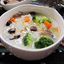 花菜香菇粥