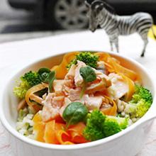 奶汁鲑鱼炖饭