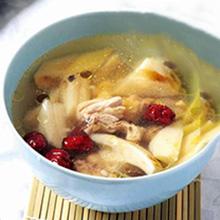 益母草红枣瘦肉汤