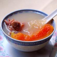 木瓜银耳猪骨汤