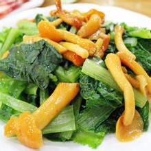 滑子菇小白菜