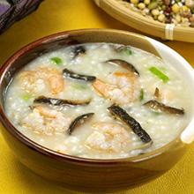泥鳅鲜虾粥
