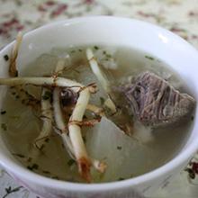 鱼腥草冬瓜瘦肉汤