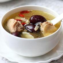玉竹红枣煲鸡汤