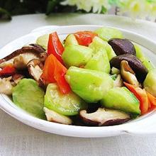 丝瓜烧香菇
