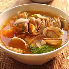 玉米须蛤蜊汤