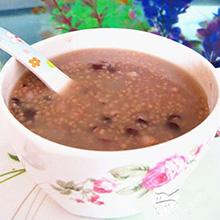 红豆小米粥